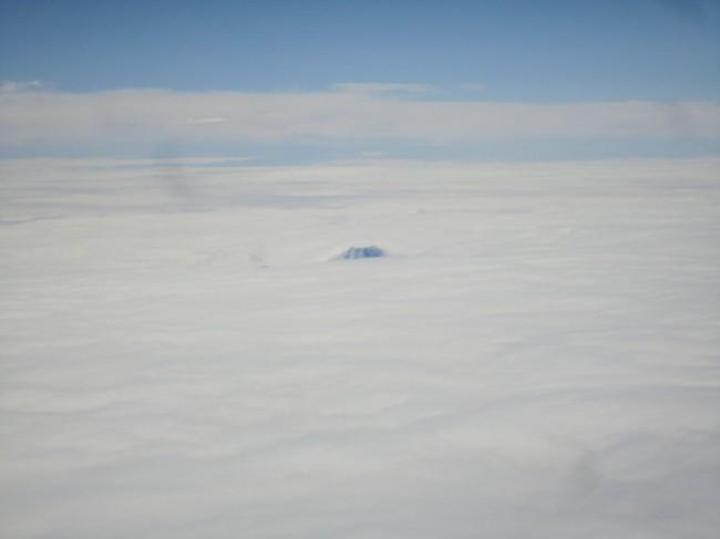 富士山見えた