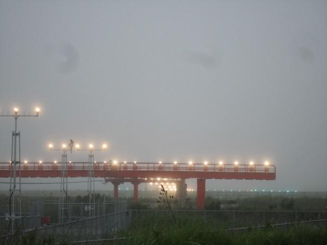 昨日は、濃霧で大変でした。